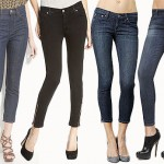 Denim Goes Demi With Cropped Skinny Jeans from Guest Blogger, TheFind!