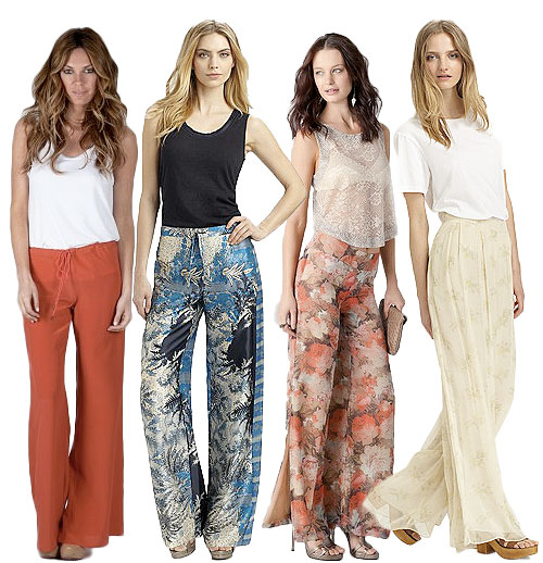 Silky Wide-Leg Pants For Comfy Summer Sophistication
