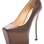 Gisueppe Zanotti's Extreme Platform Pumps or Doorstops?