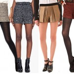 Tweed Shorts Offer a Fall-Friendly Outfit Option for a Night Out from Our Friends at Thefind.