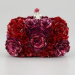 Unadulterated Lushness: Alexander McQueen's Metal Flower Box Clutch – a Feast for the Senses