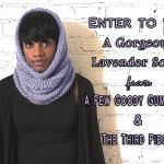 A Few Goody Gumdrops & The Third Piece Are Giving Away A Bee Hive Scarf
