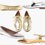 Our Friends from TheFind Love Dressing Up in Metallic Flats!