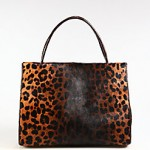 Bags for Women at the Top of Food Chain: Nancy Gonzalez's Leopard Print Haircalf Tote and Crocodile & Mink Medium Satchel