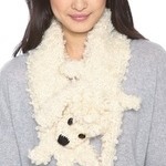 Ready to Wear a Eugenia Kim Poodle, Fox or Kitty Scarf as the Temps Drop?
