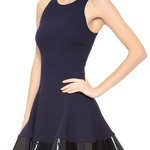 Ready to Twirl in Cushnie Et Ochs Bold Party Dress with Edward Bess Natural Lipsticks