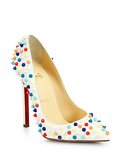 | Louboutin Candy Dots featured by popular high end fashion blogger, A Few Goody Gumdrops