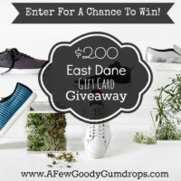 Giveaway! Win A $200 Gift Card For East Dane