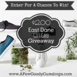 Enter Giveaway to Win $200 Giftcard from East Dane and AFGG!