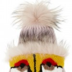 Fendi's Fuzzy Eye-Catching Monster Cap!