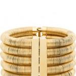 Super Versatile Balmain Gold-Tone Cuff = Gorgeousness!