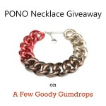 PONO Necklace Giveaway on A Few Goody Gumdrops