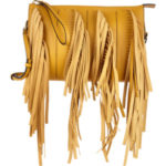 Swinging with Marni's Distinctive Fringe Clutch
