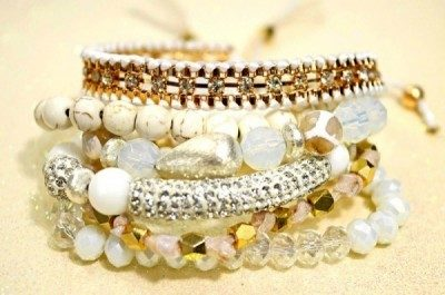 Beaded Erimish Bracelets featured by popular high end fashion blogger, A Few Goody Gumdrops