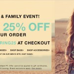 Friends & Family Event at My Favorite Online Retailer