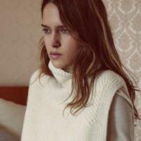 Lazuli Roll-Neck Knit Sweater for Fall