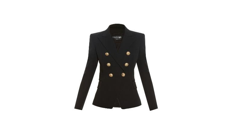 six button coat