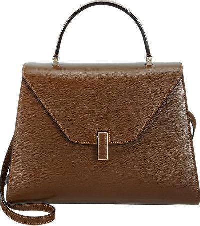 Valextra handbag featured by popular high end fashion blogger, A Few Goody Gumdrops
