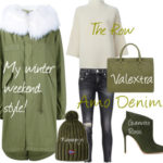 A Few Goody Gumdrops Winter Weekend Style with Amo Denim, Valextra & The Row