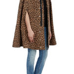 Instant Style with a Leopard Print Cape
