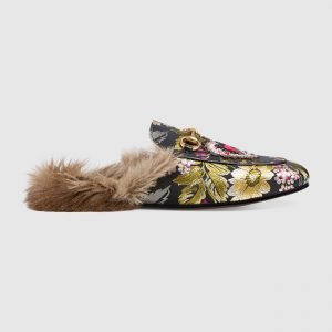 Gucci Fur-Lined Loafers and Pumps: Take a Walk on the Wild ...
