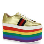 Kick It Up a Notch with Gucci Platform Sneakers
