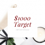 $1000 Target Gift Card Giveaway on AFGG