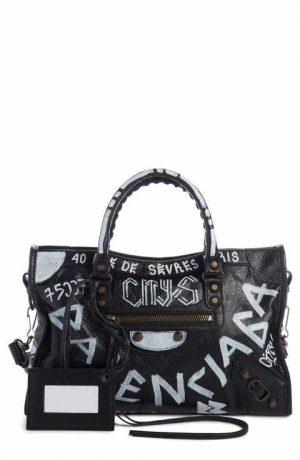 Balenciaga Bag featured by popular high end fashion blogger, A Few Goody Gumdrops