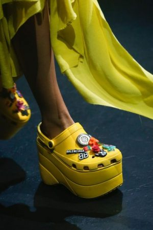 Balenciaga shoes featured by popular high end fashion blogger, A Few Goody Gumdrops