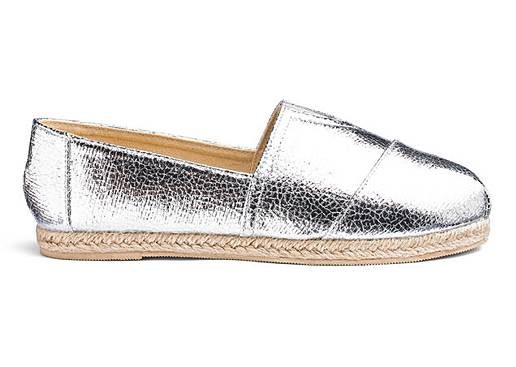Heavenly Soles Espadrilles | Trendy Silver Shoes featured by popular high end fashion blogger, A Few Goody Gumdrops