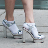 Hot Shoe Trend: Silver Shoes
