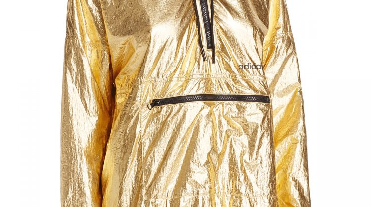 Glam Up Your Gym Run with Gold Exercise Clothes