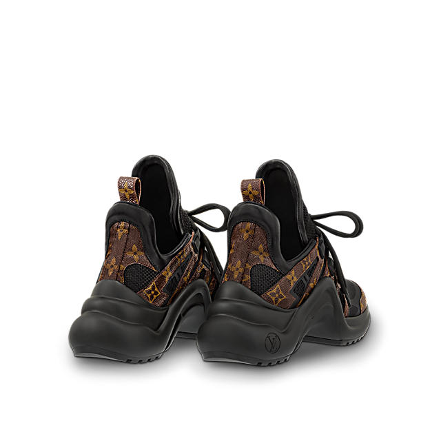 84e35638f28f ... Louis Vuitton Archlight Sneakers featured by popular high end fashion  blogger