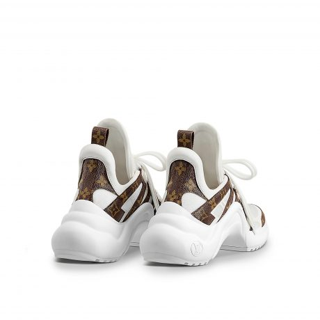Louis Vuitton Archlight Sneakers featured by popular high end fashion blogger, A Few Goody Gumdrops