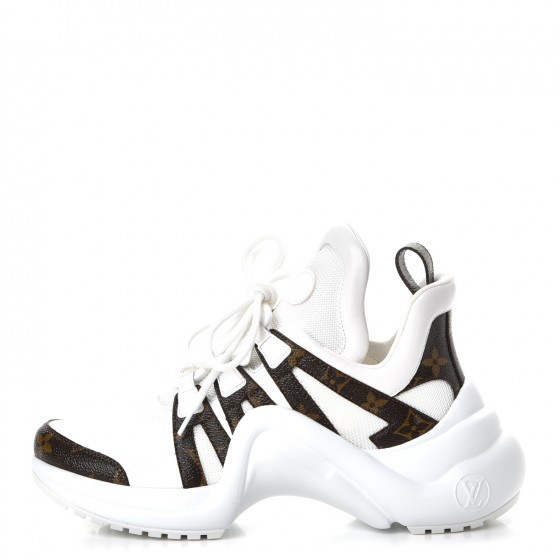 ae6ace078fbd ... Louis Vuitton Archlight Sneakers featured by popular high end fashion  blogger