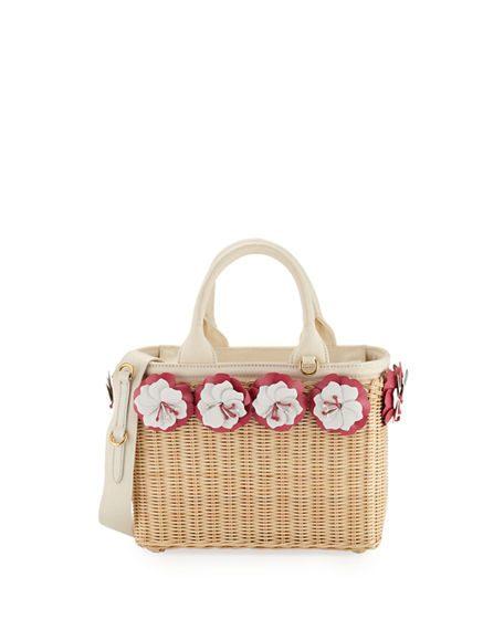 Summer Straw Handbags featured by popular high end fashion blogger, A Few Goody Gumdrops