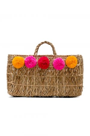 Favorite Straw Bag featured by popular high end fashion blogger, A Few Goody Gumdrops