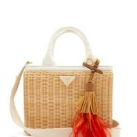 Prada's Summer Collection of Straw Bags