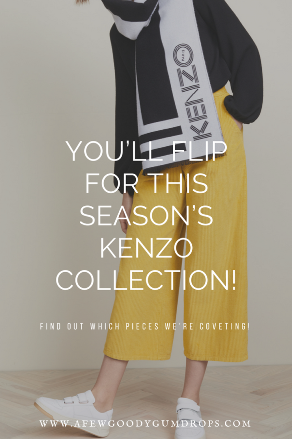 You'll Flip for This Seasons's Kenzo Collection