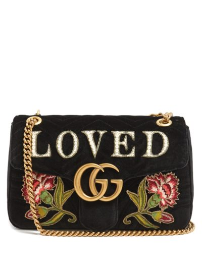 Gucci Appliqué Bags featured by popular high end fashion blogger, A Few Goody Gumdrops