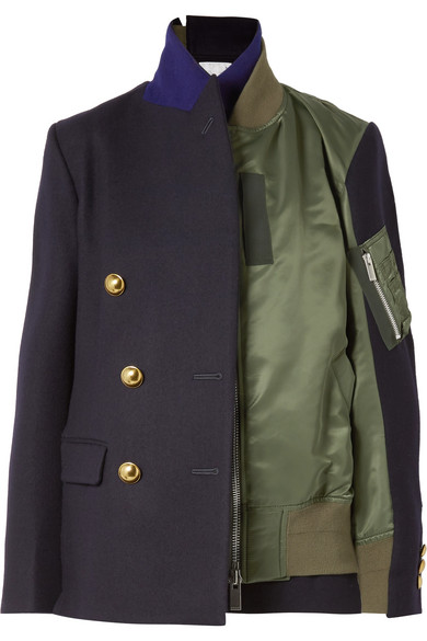 Designer Fashion: Sacai Combo Look featured by top high end fashion blog, A Few Goody Gumdrops