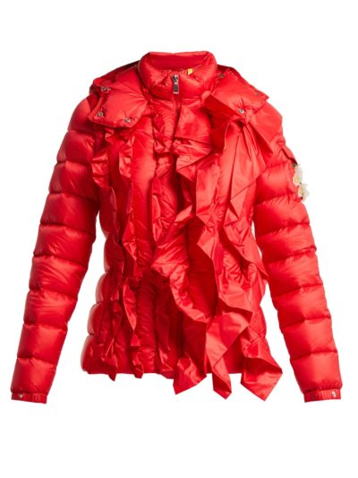 Designer Winter Clothing: Moncler/Simone Rocha designer ski wear collection featured by top high end fashion blog, A Few Goody Gumdrops