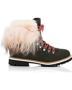 mr-and-mrs-italy-womens-fur-cuff-felt-hiker-boots | Warm winter boots featured by top high end fashion blog, A Few Goody Gumdrops: image of Mr and Mrs Italy cuf felt hiker boots