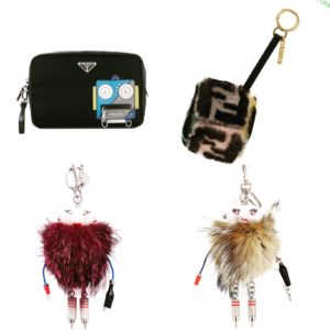 Luxury Gift Ideas For Her featured by top high end life and style blog, A Few Goody Gumdrops: image of designer key chains