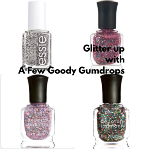 festive nail polish featured by top high end fashion blog, A Few Goody Gumdrops