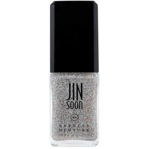 Festive nail polish featured by top high end fashion blog, A Few Goody Gumdrops: image of Jin Soon Glitter nail polish