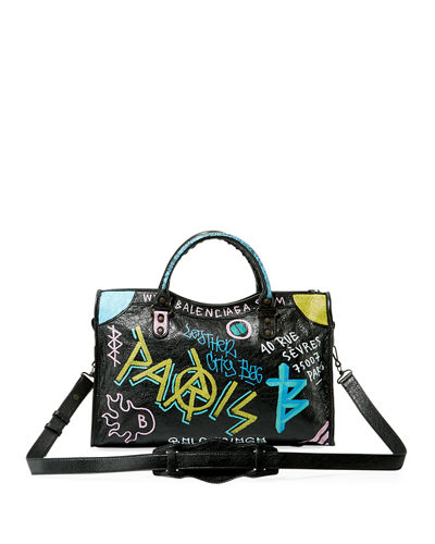 Designer Urban Streetwear featured by high end fashion blog, A Few Goody Gumdrops: image of a Balenciaga bag