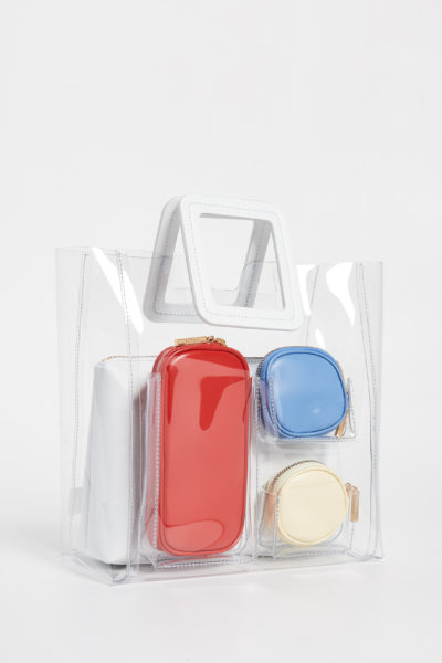 Must-Have Cute Beach Bags For Summer featured by top US high end fashion blog, A Few Goody Gumdrops: image of STAUD Shirley Bag