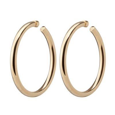 Jennifer Fisher Hoops featured by top US high end fashion blog, A Few Goody Gumdrops: image of Baby Lily hoops