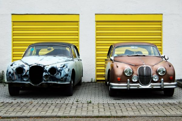 Tips on collisions featured by top US high end fashion blog, A Few Goody Gumdrops: image of 2 cars